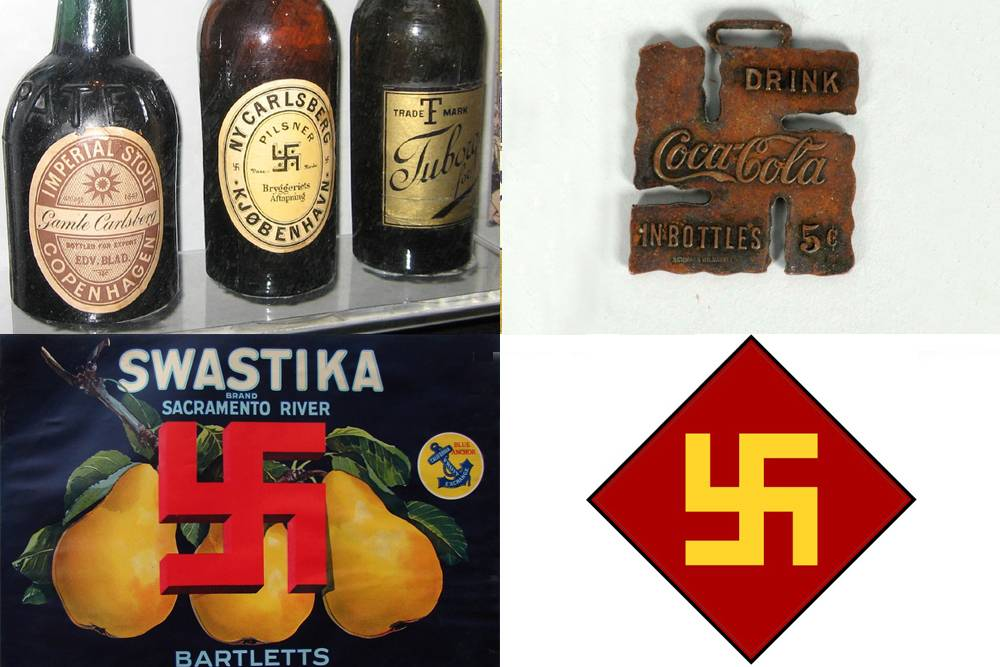 19th century European swastikas