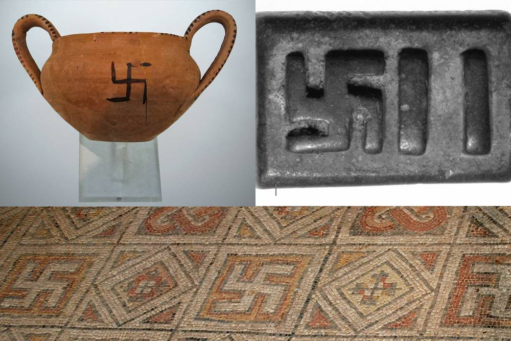 ancient swastika images from greece, rome, africa