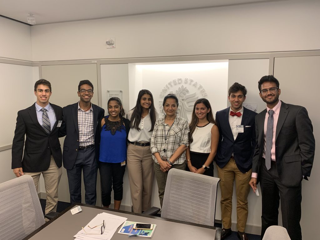 HAF interns meet with Dr Tara Kartha