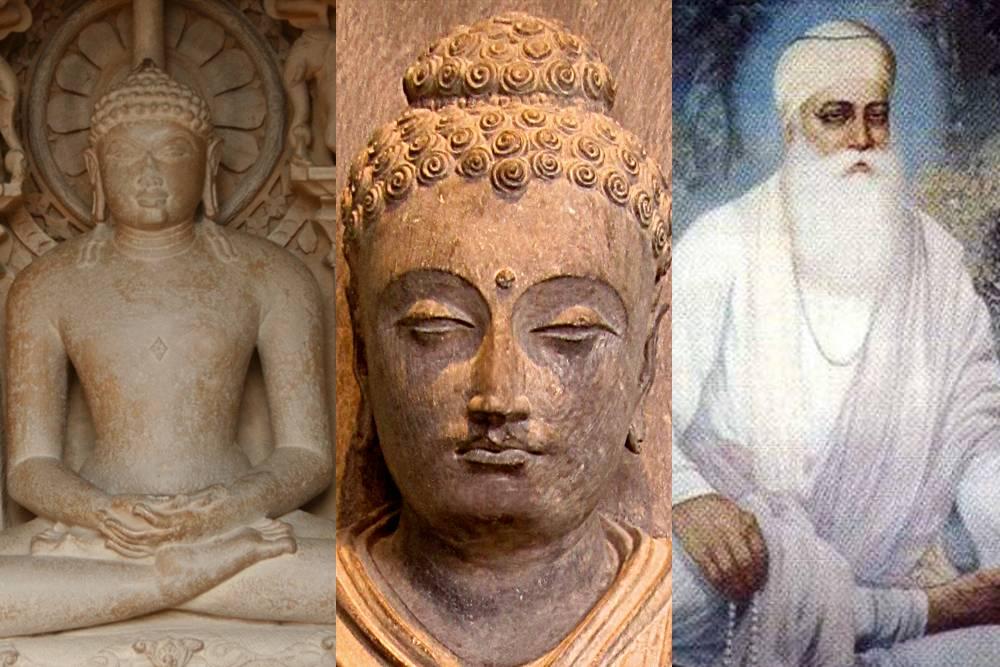 mahavira buddha guru nanak image