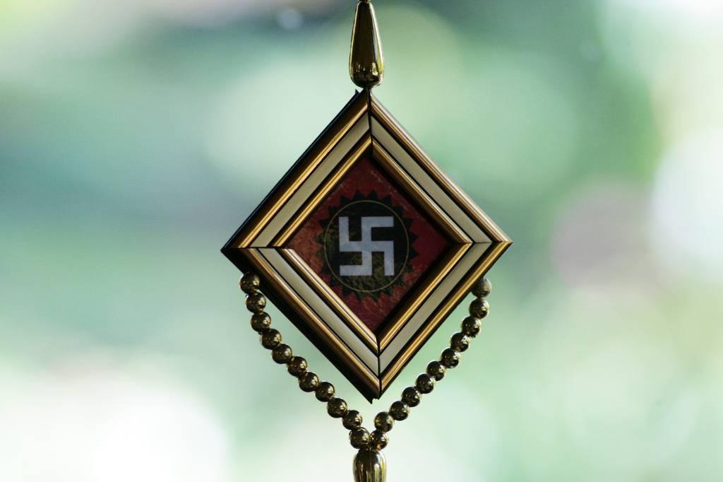 swastika pendant