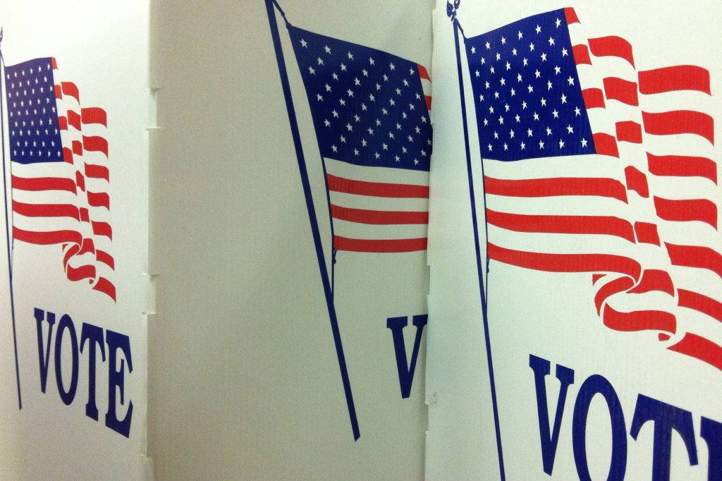 voting booth image